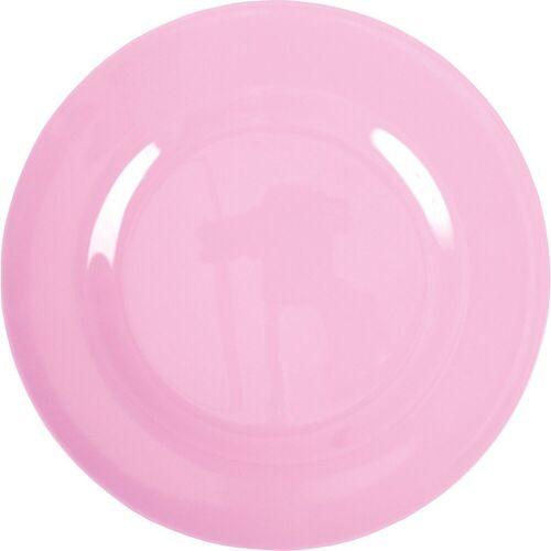 rice Speiseteller »Melamin Teller, Ø25cm«, rosa