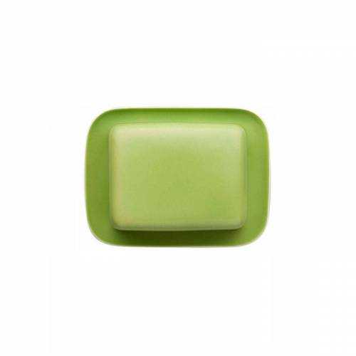 Thomas Porzellan Butterdose »Sunny Day Apple Green Butterdose 250 gr.«, Porzellan, (2-tlg)