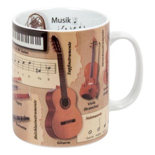 Könitz Becher »Wissensbecher Musik 460 ml«, Porzellan