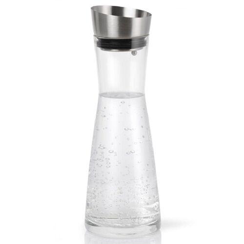 BLOMUS Dekanter »Aldoa mit Deckel Glas / Edelstahl 900 ml 63169«