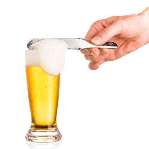 VACUVIN Tafelmesser »Bierklinge« (1 Stück), zum Abstreichen von Bierschaum