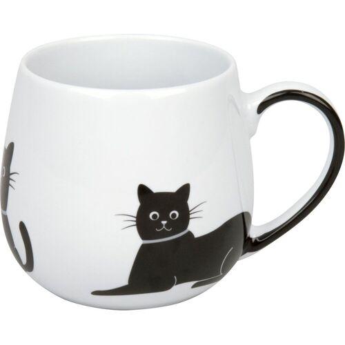 Könitz Becher, Porzellan, Kuschelbecher Kaffeebecher Kaffeepott Tee Büro Kaffeetasse Sammel-Becher