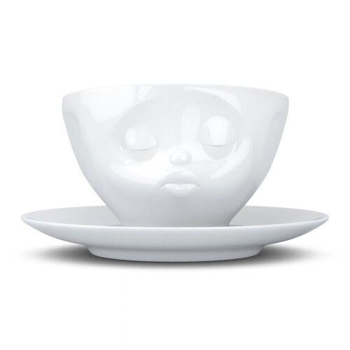 FIFTYEIGHT PRODUCTS Tasse »Tasse Küssend weiß 200 ml«