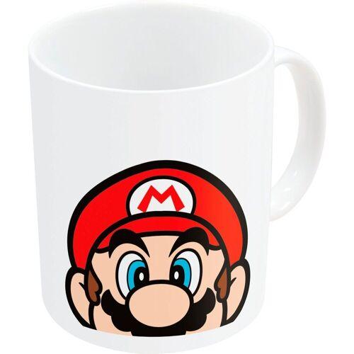 Becher »Super Mario Becher weiss (325 ml)«, Keramik