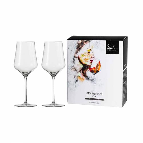 Eisch Rotweinglas »Sky SensisPlus Rotweinglas 2er Set«, Glas