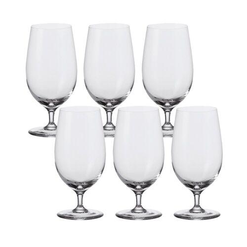 LEONARDO Bierglas »Bier Glas, 6er-Set Ciao+«, Glas