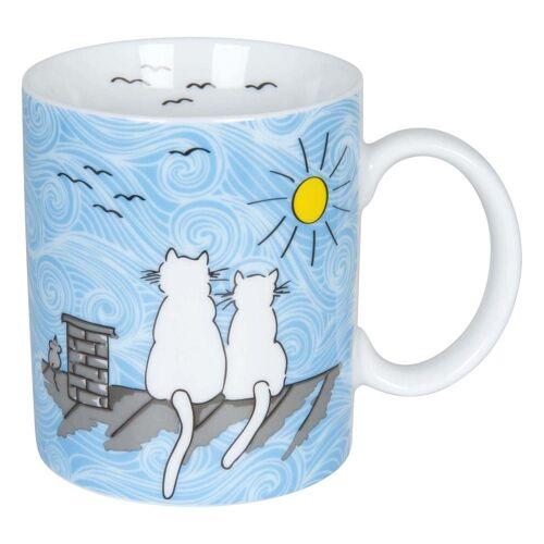 Könitz Becher »Katze Bei Tag«, Porzellan