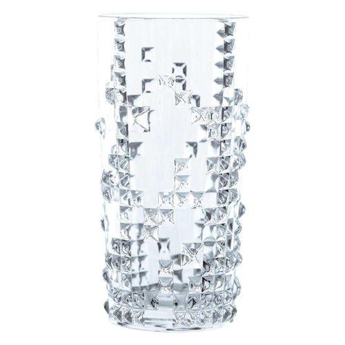 Nachtmann Gläser-Set »Punk Longdrink 4er Set 390 ml«, Kristallglas