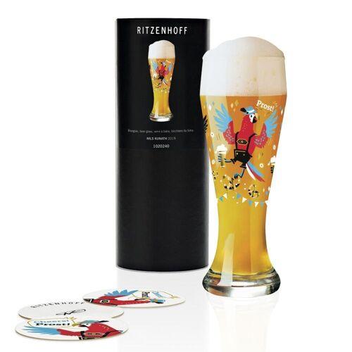 Ritzenhoff Bierglas »Weizen Nils Kunath 645 ml«, Kristallglas