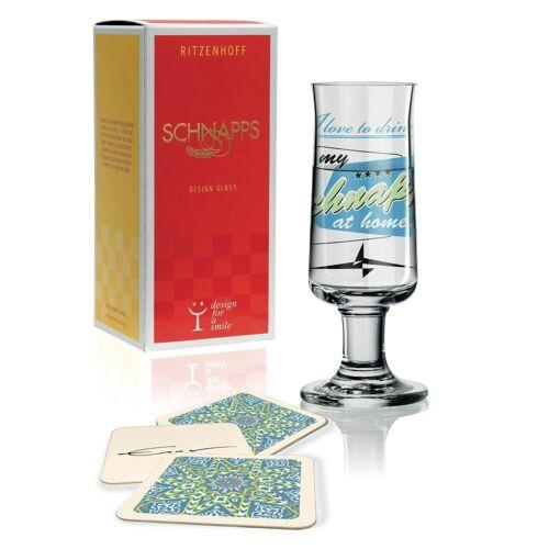 Ritzenhoff Schnapsglas »Schnapps Design Jürgen Esser 40 ml«