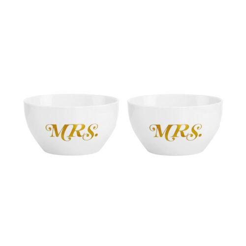 BUTLERS Schale »MRS.& MRS.«, Keramik