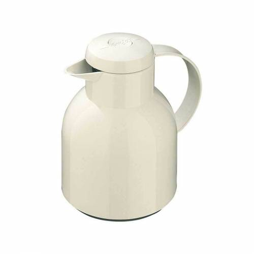 Emsa Isolierkanne »Isolierkanne Samba«, 1 l, Isolierkanne, Weiß