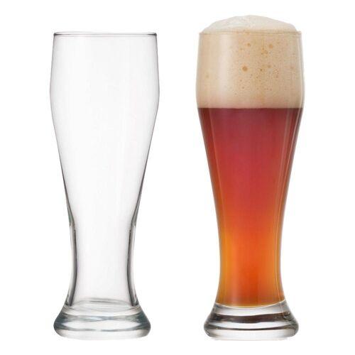 montana-Glas Gläser-Set »:basic Weizenbierglas 2er Set 400 ml«