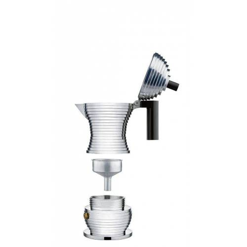 Alessi Espressokocher Pulcina Espressokocher rot 300 ml - MDL02/6 R