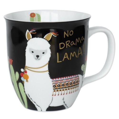 "Sheepworld Tasse »- Tasse ""No Drama Lama"" 0,4l (45544) Geschenk- Büro- Kaffee- Tasse«"