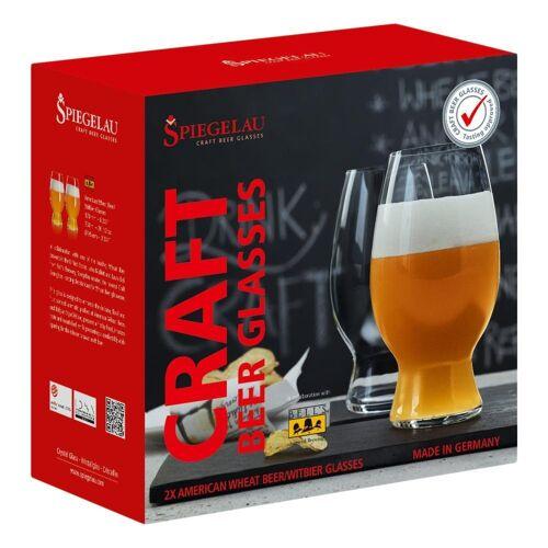 SPIEGELAU Gläser-Set »Craft Beer Glasses Witbier 2er Set 750 ml«