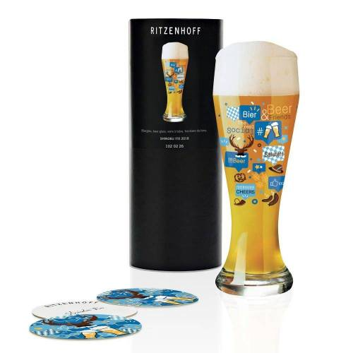 Ritzenhoff Bierglas »Weizenbierglas Bierglas Shinobu Ito 500 ml«