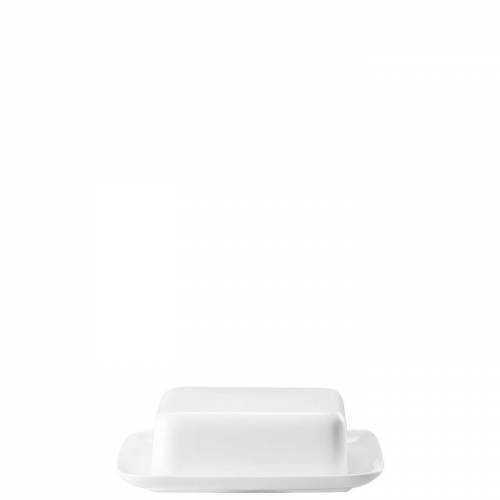 Rosenthal Butterdose »Jade Weiß Butterdose 250 gr.«, Porzellan, (2-tlg)