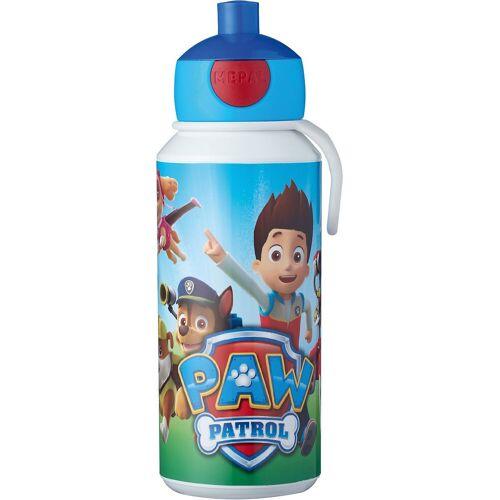 Rosti Mepal Trinkflasche »Mepal Trinkflasche pop-up campus Doodle, 400 ml«, blau