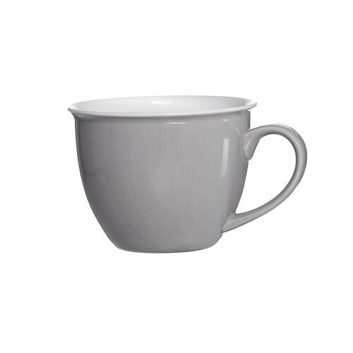 Ritzenhoff & Breker Tasse »DOPPIO Jumbotasse 350 ml grau« (1-tlg)