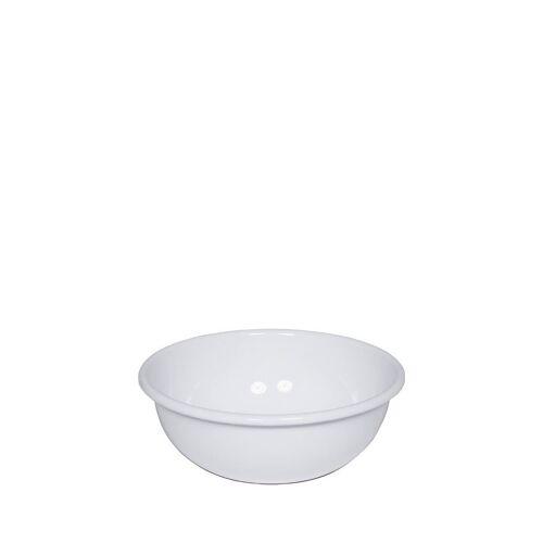Riess Schüssel »Küchenschüssel 14cm Emaille weiß«, Emaille