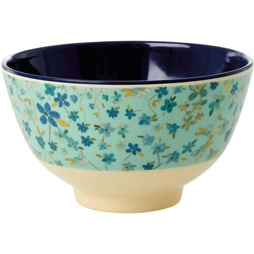 "rice Müslischale »Melamin Schale ""Blue Floral"", Ø 11cm«"