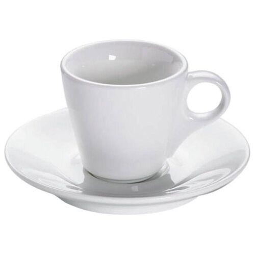 Maxwell & Williams Espressotasse »White Basic Konisch mit Untertasse 70 ml«