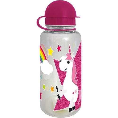 Geda Trinkflasche »Tritan-Trinkflasche Kids Einhorn, 350 ml«