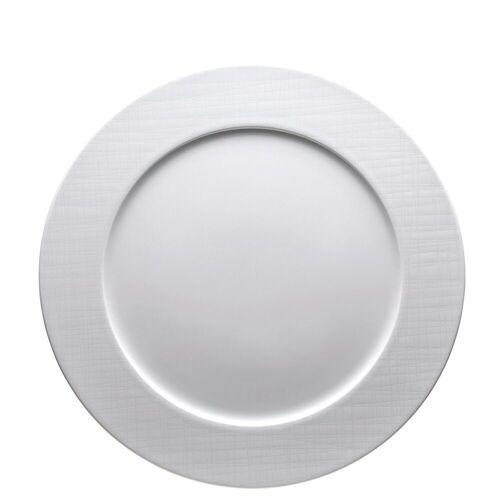 Rosenthal Teller »Mesh Weiß Fahnenteller 32 cm flach«, (1 Stück)