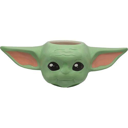 Star Wars Tasse »Tasse Mandalorian Baby Yoda 3D, 400 ml«