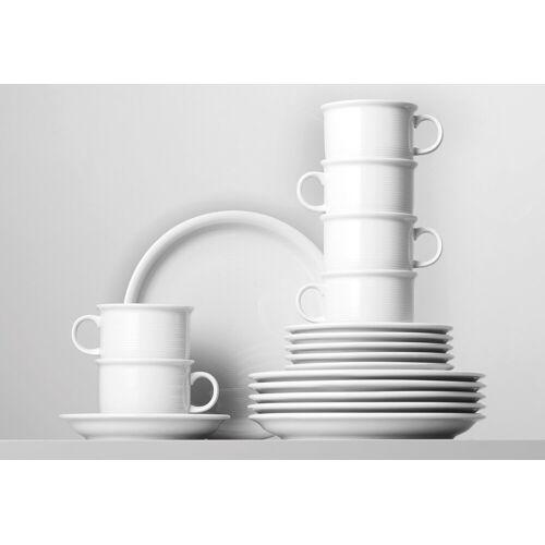 Thomas Porzellan Kaffeeservice »Trend« (18-tlg), Porzellan, Mikrowellengeeignet