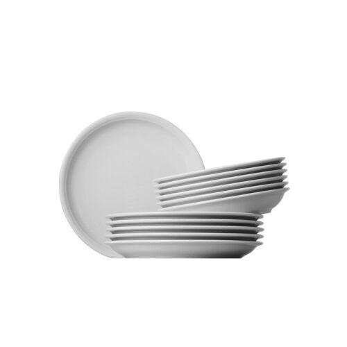 Thomas Porzellan Tafelservice »Trend« (12-tlg), Porzellan, Mikrowellengeeignet