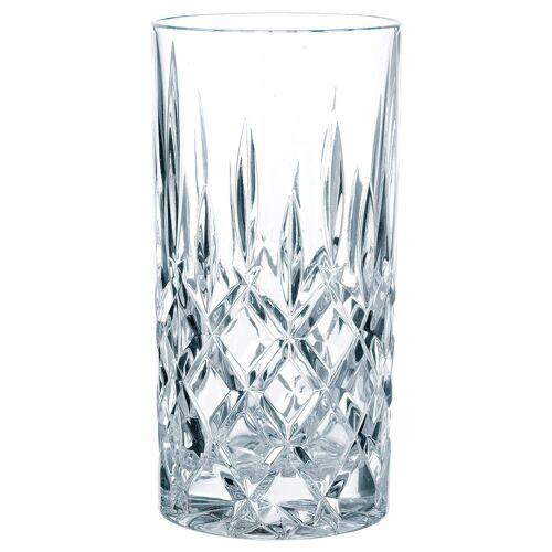 Nachtmann Longdrinkglas »Noblesse« (4-tlg), Kristallglas mit edlem Schliff