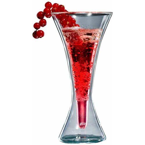 Bloomix Glas (6-tlg), Doppelwandige Ausführung