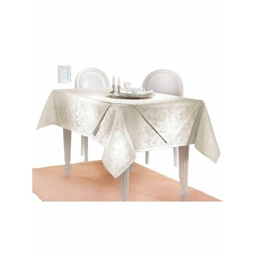 Tischdecke, champagner