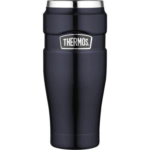Thermos Thermobecher »Stainless King« (1-tlg), DrinkLock – Verschlusssystem, 100% dicht, blau