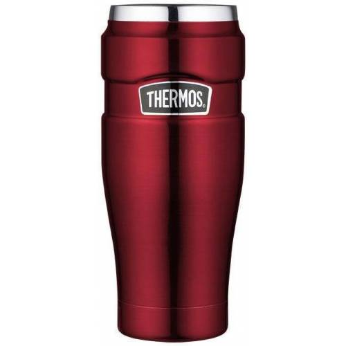 Thermos Thermobecher »Stainless King« (1-tlg), DrinkLock – Verschlusssystem, 100% dicht, rot