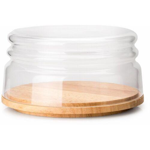 Continenta Käseglocke, mit Holzteller