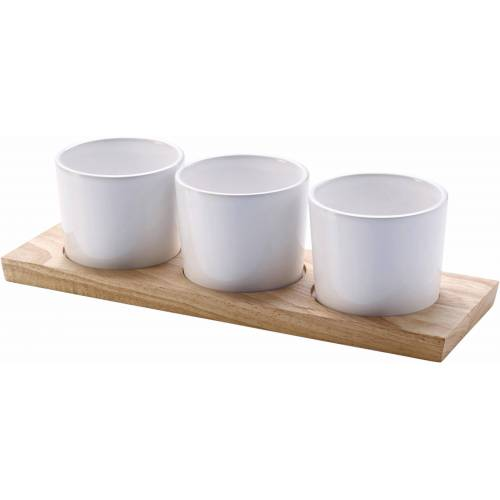 Continenta Servierschale, Keramik, (Set, 4-tlg), spülmaschinengeeignet