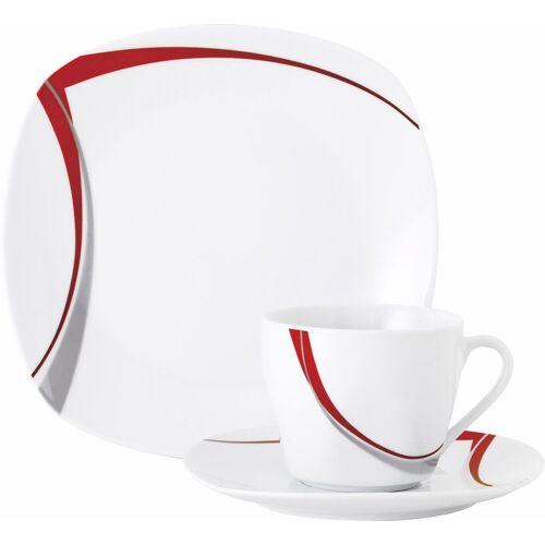 van Well Kaffeeservice »CASA« (18-tlg), Porzellan, Spülmaschinengeeignet
