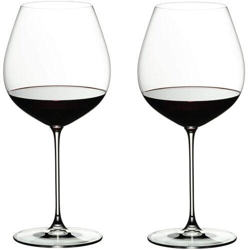 RIEDEL Glas Rotweinglas »RIEDEL VERITAS OLD WORLD Rotweinglas PINOT NOIR 2«, Glas