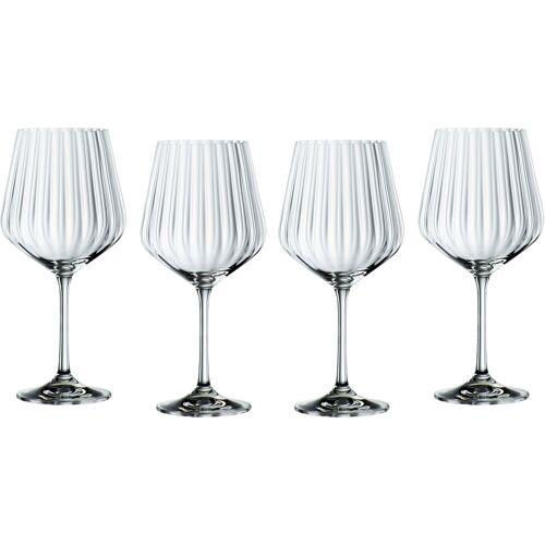Nachtmann Cocktailglas »Optic« (4-tlg), Gin Tonic, Kristallglas, 640 ml