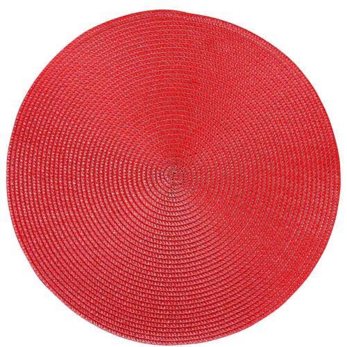 BUTLERS AMBIENTE »Tischset Ø 38 cm«, rot