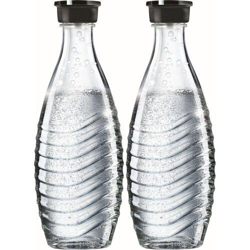 SodaStream Wasserkaraffe, (Set, 2-tlg), passend für die Modelle Crystal und Penguin