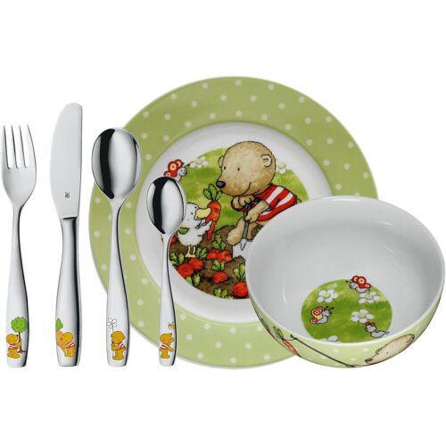WMF Kinderbesteck »Kindergeschirr- und besteck Set Sarafi, 6-tlg.«, grün