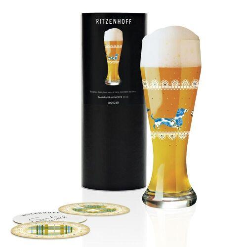 Ritzenhoff Bierglas »Weizen Sandra Brandhofer 645 ml«