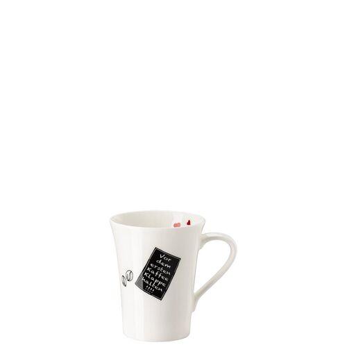 Hutschenreuther Becher »My Mug Collection Worte - Kaffee Becher mit Henkel«, New Bone China