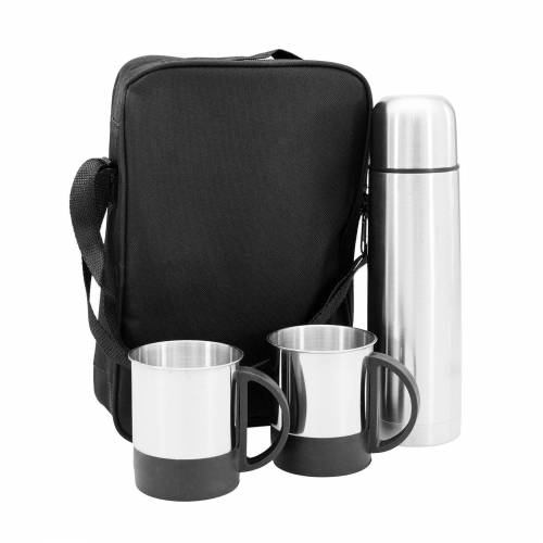HTI-Line Thermoflasche »Thermoset Black«, Thermosset