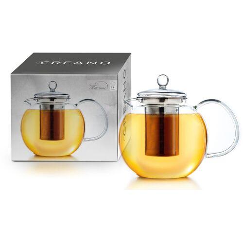 Creano Teekanne, 1,7 l, aus Borosilikatglas