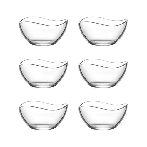 LAV Dessertschale »Glasschalen, Dessertschalen«, Glas, (6-tlg)